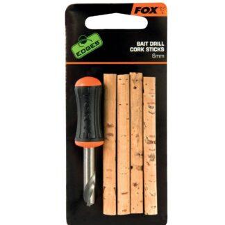 Бургия с коркови пръчки Fox Edges Bait Drill & Cork Sticks